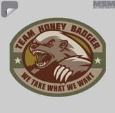 Mil-Spec Monkey Honey Badger Decal DECAL-HONEYBADGER
