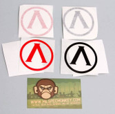 Mil-Spec Monkey Lambda Shield Decal LAMBDASHIELD