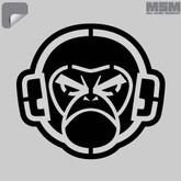 Mil-Spec Monkey MSM Logo Stencil Decal MSMLOGO-STENCIL
