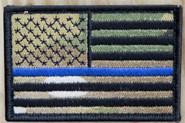 Nine Line Thin Blue Line Patch CLOTH-TBL-DMC 190741024714