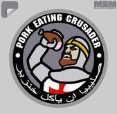Mil-Spec Monkey Pork-Crusader Decal PORKCRUSADER