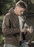 Nine Line Twill Hooded Heritage Jacket PEMB21-NLHERITAGE