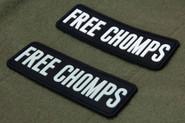 Mil-Spec Monkey Free Chomps PVC Patch FREECHOMPS