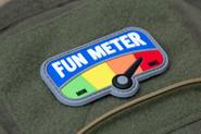 Mil-Spec Monkey Fun Meter 3 PVC Patch FUNMETER-PVC