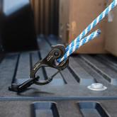 Nite Ize CamJam XT Aluminum Rope & Cord Tightener In Use 2