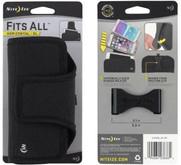 Nite Ize Fits All XL Black Horizontal Phone Case packaging