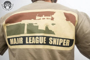 Mil-Spec Monkey Major League Sniper Shirt TAN T-MLS