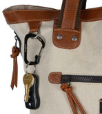 Nite Ize SlideLock Stainless Steel Carabiner #2 - Black on bag