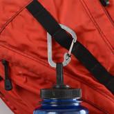 Nite Ize SlideLock Stainless Steel Carabiner #2 - Stainless on backpack