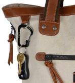 Nite Ize SlideLock Stainless Steel Carabiner #4 - Black on bag
