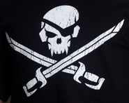 Mil-Spec Monkey Pirate Skull Shirt T-PIRATESKULL