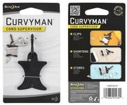 Nite Ize Curvyman Cord Supervisor Black