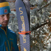 Nite Ize Gear Tie Loopable Twist Tie 24 in. bright orange securing skis