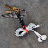 Nite Ize Gear Tie Clippable Twist Tie Neon Yellow 2pk GLZ-33-2R7 094664032231