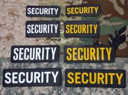 Mil-Spec Monkey Security 6 x 2 PVC Patch SECURITY-6X2