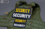 Mil-Spec Monkey Security 8.5 x 3 PVC Patch SECURITY-8-5X3
