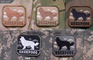 Mil-Spec Monkey Sheepdog Patch SHEEPDOG