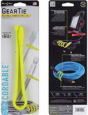 Nite Ize Gear Tie Cordable Twist Tie 18 - 2 Pack GTK18