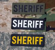Mil-Spec Monkey Sheriff 8.5 x 3 PVC Patch SHERIFF-8-5X3