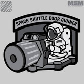 Mil-Spec Monkey Space Shuttle Door Gunner Patch SHUTTLEDOORGUNNER