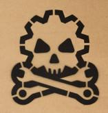 Mil-Spec Monkey Death Mechanic Stencil ST-DEATHMECHANIC