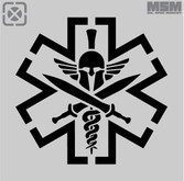 Mil-Spec Monkey Tac-Med Spartan Stencil ST-TACMED-SPARTAN