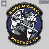 Mil-Spec Monkey Saint Michael Modern PVC Patch STMMOD-PVC