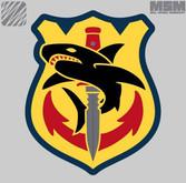 Mil-Spec Monkey Tac Shark Patch TACSHARK