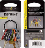 Nite Ize Key Ring with S-Biners KRG
