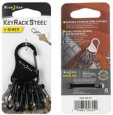 Nite Ize KeyRack Steel S-Biner black