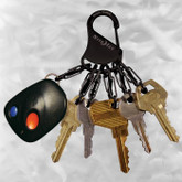 Nite Ize KeyRack Steel S-Biner with keys