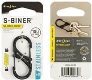 Nite Ize S-Biner SlideLock Stainless Steel #2 - Black