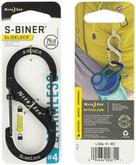 Nite Ize S-Biner SlideLock Stainless Steel #4 - Black packaging