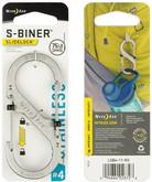 Nite Ize S-Biner SlideLock Stainless Steel #4 - Stainless