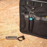Nite Ize SlideLock 360 Magnetic Locking Dual Carabiner separated