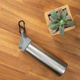 Nite Ize S-Biner Stainless Steel Dual Carabiner on water bottle