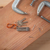 Nite Ize S-Biner Aluminum Dual Carabiner #2 orange with keys