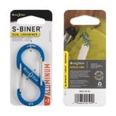 Nite Ize S-Biner Aluminum Dual Carabiner #3 blue