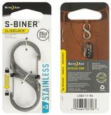 Nite Ize S-Biner Slidelock Stainless Steel #3 stainless