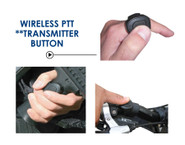 Earphone Connection Stingray Lapel Mic and Wireless PTT Kit STINGRAY - LA Police Gear