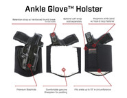 Galco Ankle Glove Holster features