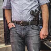 Galco Cop 3 Slot Belt Holster crossdraw