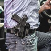Galco Cop 3 Slot Belt Holster strongside
