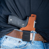 Galco Waistband Inside the Pants Holster worn