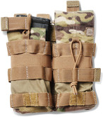5.11 Tactical Multicam Double Bungee/Cover AR Magazine Pouch 56387 56387 888579149876