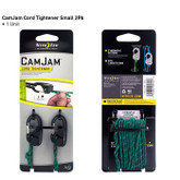 Nite Ize CamJam Small Cord Tightener - 2 Pack with 12 Reflective Cord NCJS-M1-2R3