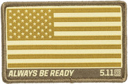 5.11 Tactical USA Flag Woven Patch 81292 81292