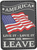 5ive Star Gear America Live it, Love it Morale Patch