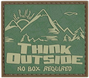 5ive Star Gear Think Outside No Box Morale Patch 6661000 690104466347