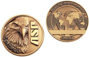 ASP Products Certified Challenge Coin 59301 092608593015